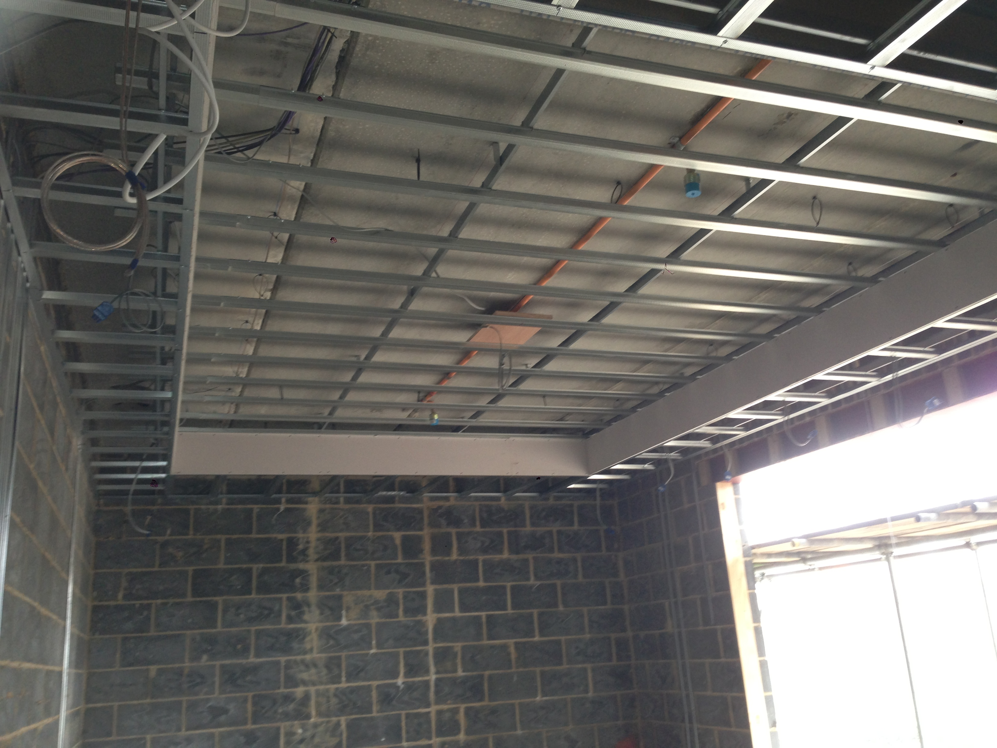 Suspended Metal Furring Grid Systems (MF) | M A Dry Lining ...